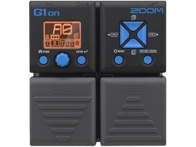 ZOOM G1on Effects Pedal • 49.98£