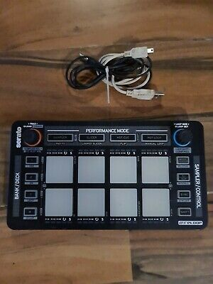 Reloop Neon 4 Channel Plug And Play Performance USB Pad Controller For Serato DJ • 64.99£
