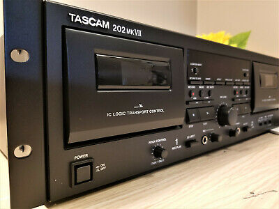INCREDIBLE Tascam 202MKVII Rackmount USB Dual Cassette Deck  • 358.41£