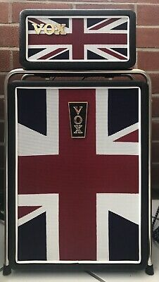Vox Mini Superbeetle Guitar Stack Amplifier Head And Cabinet Union Jack • 195£