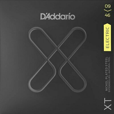 D'Addario XT Electric Nickel Plated Steel - Super Light Top/Regular Bottom - 09- • 11.99£