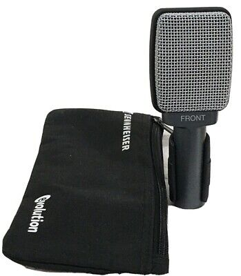 Sennheiser E609 E 609 Silver Dynamic Microphone Mic With Clip And Pouch • 76.09£
