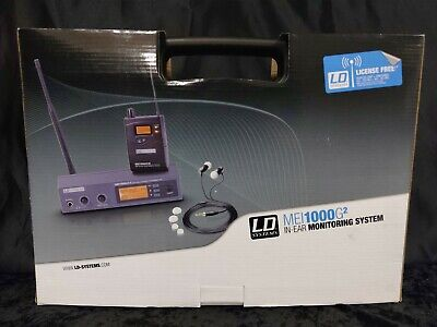 LD Systems MEI1000G2 In-Ear Monitoring Wireless System • 349.99£