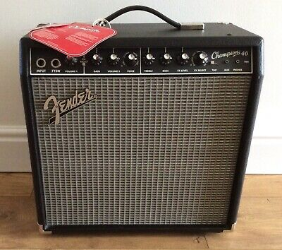 Fender Amplifier Champion 40,never Used • 110£