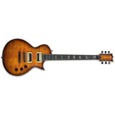 ESP LTD Deluxe EC-1000 FM Amber Sunburst ASB Electric Guitar + Free Gig Bag • 749.72£