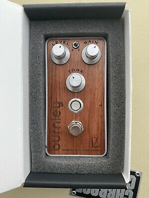 Bogner Burnley Exotic Wood Edition Drive Distortion Fuzz Effects Pedal • 198.57£
