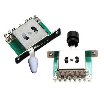 1 Pcs 5 Way Pickup Selector Switch For Fender Tele Strat Replacement & 1pcs N9C2 • 3.22£