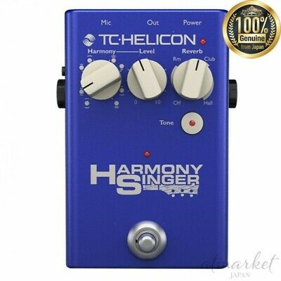 TC HELICON Reverb Pedal 996371001 For Vocals HARMONY SINGER 2 From JAPAN • 230.36£