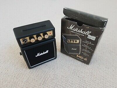 Marshall MS-2 1W Micro Amp Portable Battery Operated • 7£
