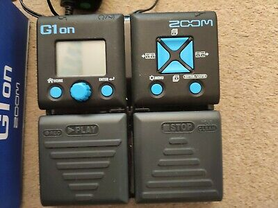 ZOOM Guitar Multi-Effects G1on • 11.30£
