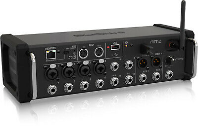 Open Box - Midas MR12, 12 Input Digital Mixer For IPad/Android Tablets • 428.32£