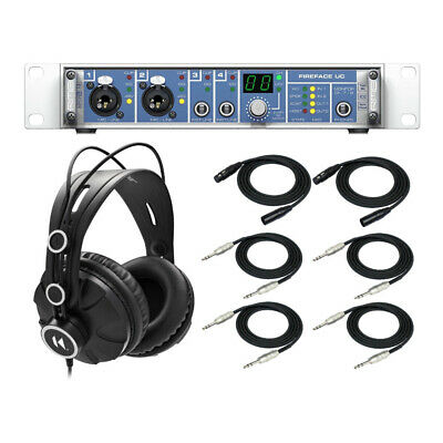 RME Fireface UC Hi-Performance USB 2.0 High Speed Audio Interface Bundle • 1,086.41£