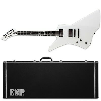 ESP LTD Snakebyte LH Snow White SW NEW Electric Guitar + Case James Hetfield • 973.40£