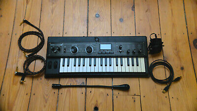 Micro Korg Xl+ Synthesiserwith 6.3mm Audio Jack Cables X 2 And Manual • 250£