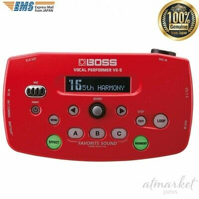 BOSS Vocal Performer VE-5-RD Red From JAPAN NEW • 204.32£