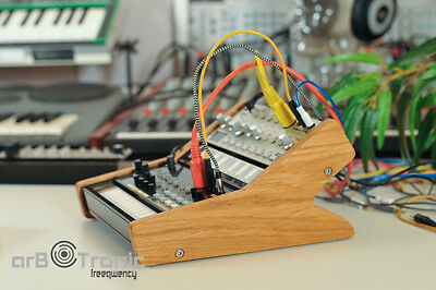 Korg Volca Duo Real Wood Stand Holder Tier Rack Stand Bass Sample Beats Keys • 60.62£