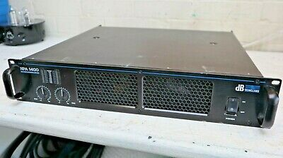 DB Technologies' HPA 1400 High Power Amplifier PA Or DJ Excellent Working Order • 99£