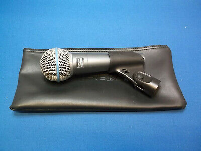 Shure Beta 58A Vocal Microphone • 95£