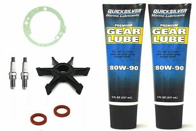 SERVICE KIT 25HP YAMAHA MARINER 25D Outboard 2 Stroke Gearlube Impeller Plugs • 44.95£