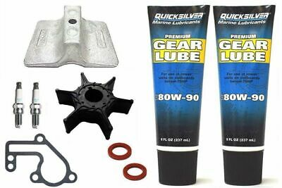 SERVICE KIT 15HP YAMAHA 15FMH 15F Outboard 2 Stroke Gearlube Impeller Anode • 47.99£