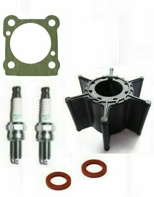 SERVICE PARTS KIT 8HP YAMAHA MARINER 8C Outboard 2 Stroke Impeller Plugs Gasket • 23.95£