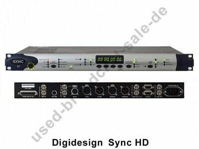 Digidesign Sync HD (AVID Sync HD Pro Tools Interface) • 518.78£