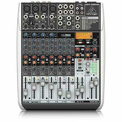 Behringer Analog Mixers USB Audio Interface Effector 8ch XENYX QX1204USB • 336.04£