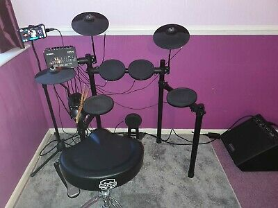 Yamaha Dtx432k Electric Drum Kit With Laney Drumhub Amp Vic Firth SiH2 Headphone • 350£