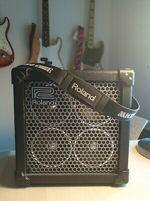Ultra Rare Roland Micro Cube RX Guitar Amplifier (Not The Usual Bass One) COSM • 49.99£