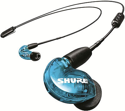 Shure SE215 Wireless Earphones With Bluetooth 5.0, Sound Isolating, Special Blue • 101.12£