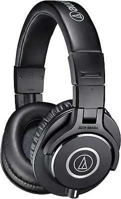 Audio-Technica ATH-M40X Professional Headphones - Black • 103.42£