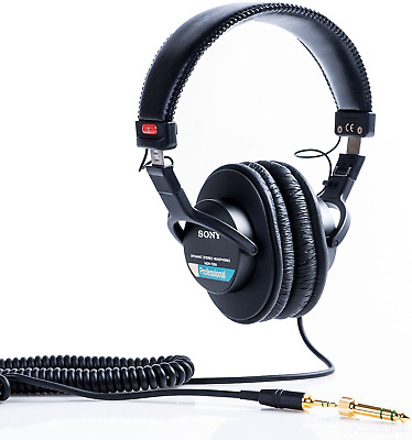 Sony MDR-7506/1 Professional Headphone, Black • 126.58£