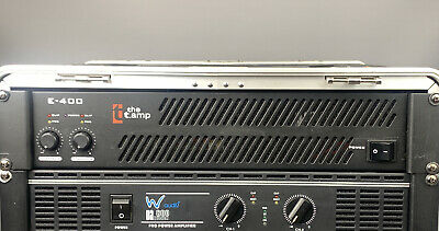 The T Amp E-400 Amplifier 🔊 Racking Unit 🔊 Professional Power Amp 400-Watts • 90£