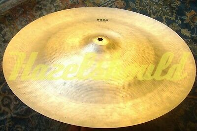 VIDEO! EXOTIC COMPLEX WARM PAPERTHIN SABIAN HH 18  CHINESE CHINA 1044 Gs $400?? • 164.50£