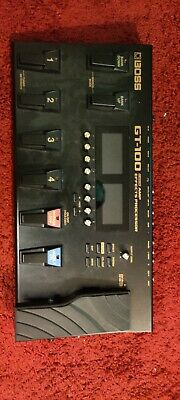 Boss GT100 V2 Multi-Effects Guitar Effect Pedal USED • 108£