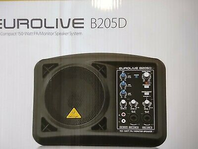 Behringer Eurolive B205D PA Monitor Used Once • 129£