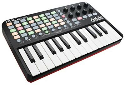 Akai Professional USB Keyboard Controller Ableton Live Lite Included APC KEY 25 • 100.01£