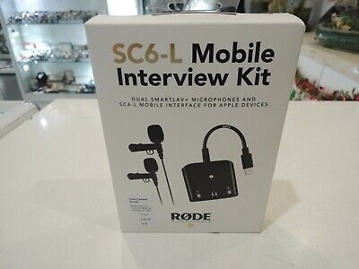 Rode SC6-L Mobile Interview Kit For Apple Devices  • 120.54£