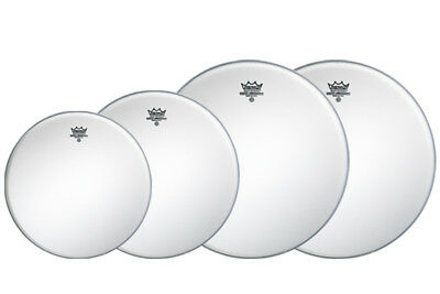 Remo Coated Ambassador Pack - 10,12,16 with FREE 14!