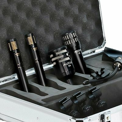 Audix DP Quad Drum Microphone Kit I5, D6, 2 ADX-51 Bass, Snare, Overheads • 428.50£