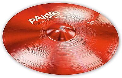 Paiste Color Sound 900 Red 16  Crash Cymbal/Model # CY0001921416/New • 104.44£