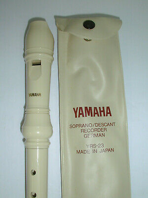 Yamaha Soprano Descant Recorder German YRS-23 With Case Made In Japan • 7.36£