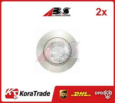 2x 17967 ABS OE QUALITY BRAKE DISC SET • 60£