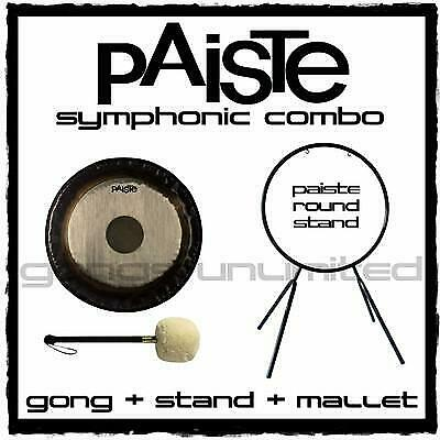 Paiste Symphonic Gong On Orchestra Stand With Mallet Combos • 804.49£