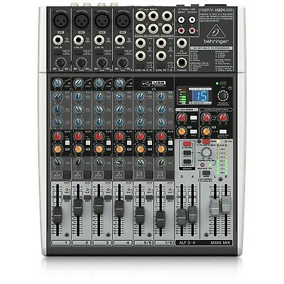 Behringer X1204USB Xenyx 12 Input 2/2 Bus Mixer XENYX X1204USB Single • 206.30£