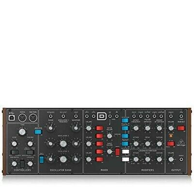 Behringer Analog Synthesizer MODEL D VCO VCF VCA Classic Type Audio Equipment • 314.74£