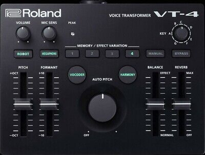 Roland Voice Transformer AIRA VT-4 Black • 220.50£