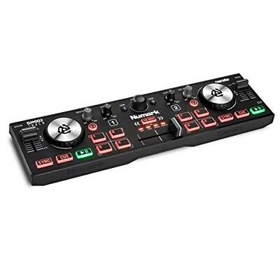 Numark Compact DJ Controller DJ2Go2Touch With Mixer For Serato Audio Interface • 90.51£