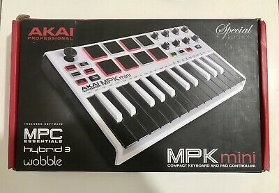 Akai MPK Mini Mk2 Midi USB 25 Key Compact Controller Keyboard Limited Edition • 50£