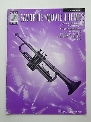 Favourite Movie Themes Sheet Music Book with CD by Hal Leonard